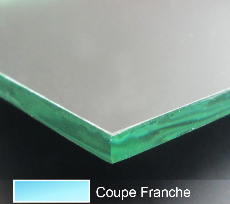 Verre imprim lens for Coupe miroir sur mesure