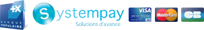 Logo Banque Populaire Systempay