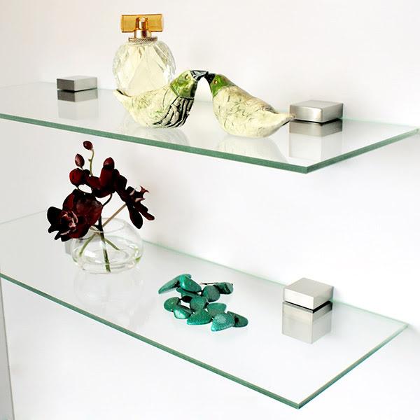 tablette en verre sur mesure, prix tablette en verre