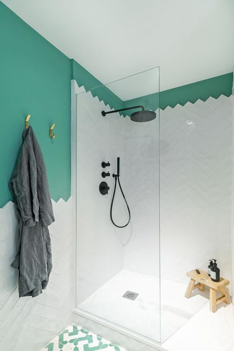 Paroi de douche en verre tous nos - Paroi de douche en verre sur mesure ...