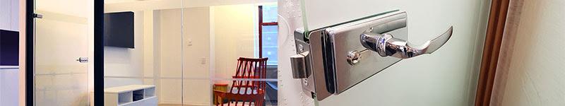 installer une porte en verre fixation porte vitrée porte en verre intérieur