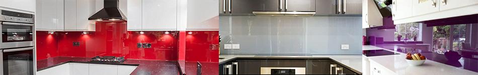 verre laqu pour cr dence couleur vive. Black Bedroom Furniture Sets. Home Design Ideas