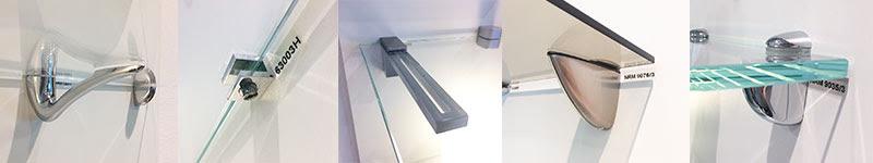 pinces à étagère en verre sur mesure verre securit sur mesure